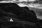 """""""Samotny kościół"""" - fot. Kordian Waroński."""